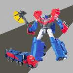 Оригинал Трансформаторы Игрушки Optimus Prime Voyager Collection Подарочная фигурка Игрушка