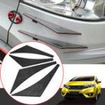 Оригинал УглеродноеволокноШаблонАвтомобильПереднийбампер Разделитель Spoiler Wing Accessory Universal