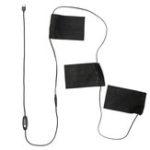 Оригинал 3 Gear USB Электрические нагревательные колодки Термальные жилеты Одежда с подогревом Mobile Warming Gear