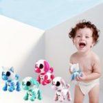 Оригинал Интеллектуальный смарт-мини-щенок-робот Собака Sound Record Puppy Toy Birthday Gift Collection