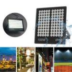 Оригинал 50W 100W Белый свет Водонепроницаемы IP66 Ultra Thin LED Свет наводнения Light Сад Лампа AC22V