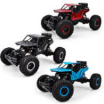 Оригинал 1PCLH-008S1/162.4G4WD20km / h Alloy Shell Rc Авто Рок-гусеничный внедорожник для скалолазания RTR Toy
