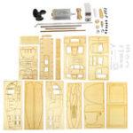 Оригинал 1:18 Деревянные парусные лодки Модель DIY Сборочные комплекты для строительства Украшение для комнаты Детский подарок