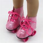 """Оригинал Очаровательны Ролик Коньки Обувь для 18 """" Американская девушка нашего поколения Кукла Аксессуары Action Figure"""
