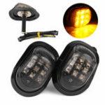 Оригинал 12V 9 LED мотоцикл Индикаторы поворота Индикаторы Лампа Universal Amber