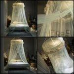 Оригинал ПринцессаВисячиекруглыекружевныенавесыКровать Сетка Comfy Студент Dome Москитная сетка с насекомыми Кровать Canopy Net