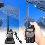 Оригинал BAOFENG UV-5RA Handheld Walkie Talkie VHF / UHF 128CH Dual-Band CTCSS FM Ham Two Way Радио