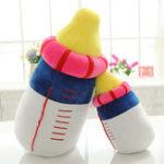 Оригинал 20/45/60cmСимпатичныебутылкимолока Плюшевые игрушки Детская бутылочная подушка Soft Подушка мягкие плюшевые детские игрушки