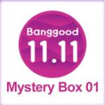Оригинал Banggood 11.11 Shopping Carnival Mystery Коробка Ограниченное предложение. Скоро в продаже. Убейте его сейчас! 11