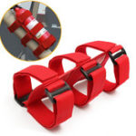 Оригинал Красный спортивный ролл-бар Огнетушитель Повязка фиксированная Ремень Nylon Ремень для Wrangler TJ YJ JK CJ