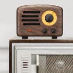 Оригинал Maoking MW-2 The Little Prince Bluetooth 4.0 Деревянный динамик 5W FM Радио Приемник Поддержка USB AUX