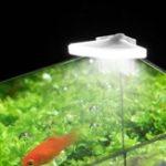 Оригинал 3W Mini LED Аквариум Легкий клип на рыбном баке Aquatic Растение Лампа AC110V / AC220V