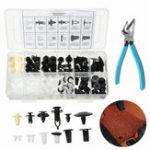 Оригинал 146Pcs Дверной патрон Push Pin Авто Заклепочные зажимы Корпусные винты для кузова Push Тип Retainer Набор