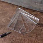 Оригинал Пластиковый центр Finder Измерительный макет Набор Деревообработка Набор для квадратного круга и сексуальности