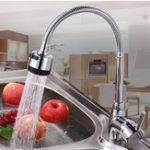 Оригинал Кухня Ванная комната Смеситель для слива 360 ° Вращающийся выталкиватель Опрыскиватель Горячий холодный водяной смеситель