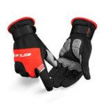 Оригинал GUBS089ВелосипедныйветрозащитныйэкранTouch Mivrofiber Full Fingers Bike Перчатки Водонепроницаемы Противоскользящий велосипед Перчатки