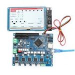 Оригинал Duet Wifi V1.03 Модернизированная плата контроллера Расширенная 32-битная материнская плата с 5-дюймовым сенсорным экраном PanelDue для 3D-принтера CNC-