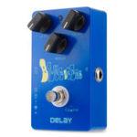 Оригинал Caline CP-19 Blue Ocean Delay Гитарные эффекты Педаль True Bypass Время отклика 25мс-600 мс