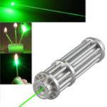 Оригинал XANES017ЗеленыйЛазерPointerHigh Power Burning Лазер С 16340 Перезаряжаемый Батарея & Зарядное устройство и защищенный от света Очки