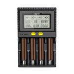 Оригинал MiboxerC4-Plus4слотаLCDДисплей 2.5A Быстрая зарядка Smart Батарея Зарядное устройство для AA AAA 18650 26650 21700 18350 16340 Most Аккумуляторы