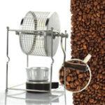 Оригинал 304 Нержавеющая сталь Ручная машина для обжарки кофейных зерен Roaster Ролик Baker Kitchen Baking Инструмент