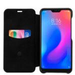 Оригинал LENUOДержательдержателядлякарточекSoft Кожа PU + ПК для защиты тела Чехол Для Xiaomi Redmi Примечание 6 Pro