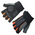 Оригинал KALOAD1параAnti-slipHalfFingers Перчатки На открытом воздухе Верховая езда Фитнес Занятия спортом Упражнение Спортзал Перчатки