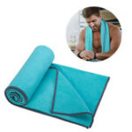 Оригинал AONIJIE Спорт Полотенце Microfiber Fabric Absorb Sweat Running Полотенцеs Фитнес Yoga Quick Dry Washcloth