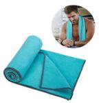 Оригинал AONIJIEСпортПолотенцеMicrofiberFabricAbsorb Sweat Running Полотенцеs Фитнес Yoga Quick Dry Washcloth