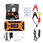 Оригинал JX27 88000mAh 4USB Авто Jump Starter Pack Booster Многофункциональный аварийный источник питания Зарядное устройство для начинающих