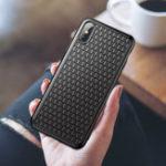 Оригинал BaseusЗащитныйЧехолдляiPhoneXS Макс. Рассеивание тепла Soft ТПУ задняя крышка