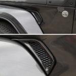 Оригинал 2Pcs Авто Лист Пластина Втулка для обрезки обсадной трубы для джипа для Wrangler JL 2018