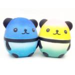 Оригинал Squishy Panda Кукла яйца Медленный рост с коллекцией подарков Подарочный набор Soft Squeeze Toy