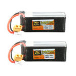 Оригинал 2Pcs ZOP Power 14.8V 1400mAh 65C 4S Lipo Батарея XT60 Plug