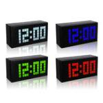 Оригинал Big Дисплей Large Alarm Часы Time Modern Alarm Часы Smart Часыs Обратный отсчет Digital Snooze Часы