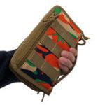 Оригинал МужчиныNylonНаоткрытомвоздухеСпортивный кошелек Army Fan Tactical Сумка