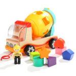 Оригинал TopBright-120308 Блокировка грузовика Моделирование Когнитивные игрушки-миксеры