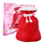 Оригинал 12CM Маленький Кошелек Squishy Jumbo Slow Rising Soft Игрушка Рождественская коллекция подарков с упаковкой