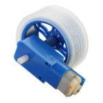Оригинал 5Pcs Синие цветные резиновые колеса + 3-6v TT Мотор DIY Набор Для Arduino Smart Chassis Авто Аксессуары