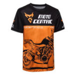 Оригинал мотоцикл Breathable Sport Cotton Рубашка На открытом воздухе Riding Racing T-shirt O Шея Короткая втулка
