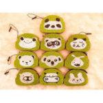 Оригинал Хлеб Squishy Зеленый Чай Toast 8.5 * 6 * 1CM Симпатичные животные Мультфильм Squeeze Игрушки Подарочная упаковка Упаковка