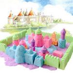 Оригинал 100G Волшебный Motion Colorful Play Sand Kid DIY Крытый Play Craft Non Toxic Clay Инструмент