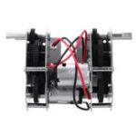 Оригинал Heng Long Металлическая зубчатая передача TK-BX001B Коробка W / Стальная шестерня для частей резервуара 1/16 Rc