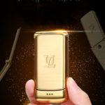 Оригинал UlcoolV9SmalllestFlipPhone850mAh Whatsapp Bluetooth Dialer FM Dual SIM Mini Card Phone