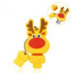 Оригинал Meco USB 2.0 16GB Flash Привод Рождественский подарок Ручка Память накопителя Палка Mini Portable Thumb Drive