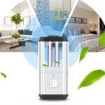 Оригинал LUSTREON Портативный ультрафиолетовый UV Стерилизация озоном клещей Гермицидный свет USB дезинфекция Лампа