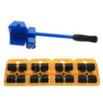 Оригинал Тяжелая мебельная скоба для передвижной системы Lifter Инструмент с 4-мя слайдерами Pad Pad Easy Move