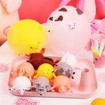 Оригинал Animal Воздушный шар Squeeze Надувные игрушки Funny Stress Reliever Squishy