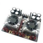 Оригинал 420W x 2 AC24V TDA8954TH Двухъядерный цифровой звук Усилитель Плата с процессором Fan Hifi Двухканальный усилитель