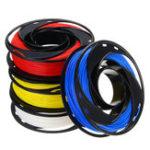 Оригинал CCTREE® Синий + белый + желтый + красный цвет 200 г / рулон 1.75 мм PLA Филамент Набор для 3D-репитера принтера